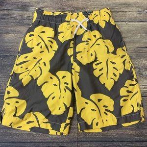 EUC Gap kids boys swim trunks shorts size 8